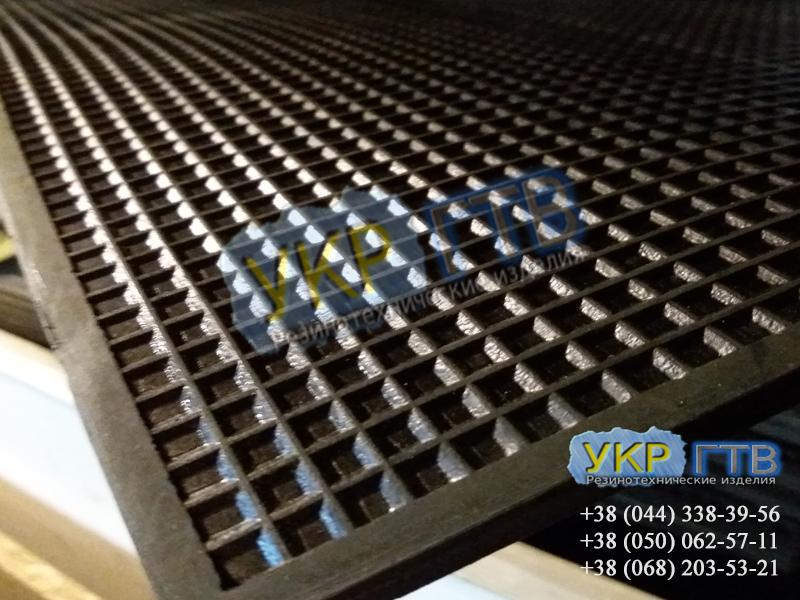 Коврики диэлектрические 0,5×0,5 м (черные)