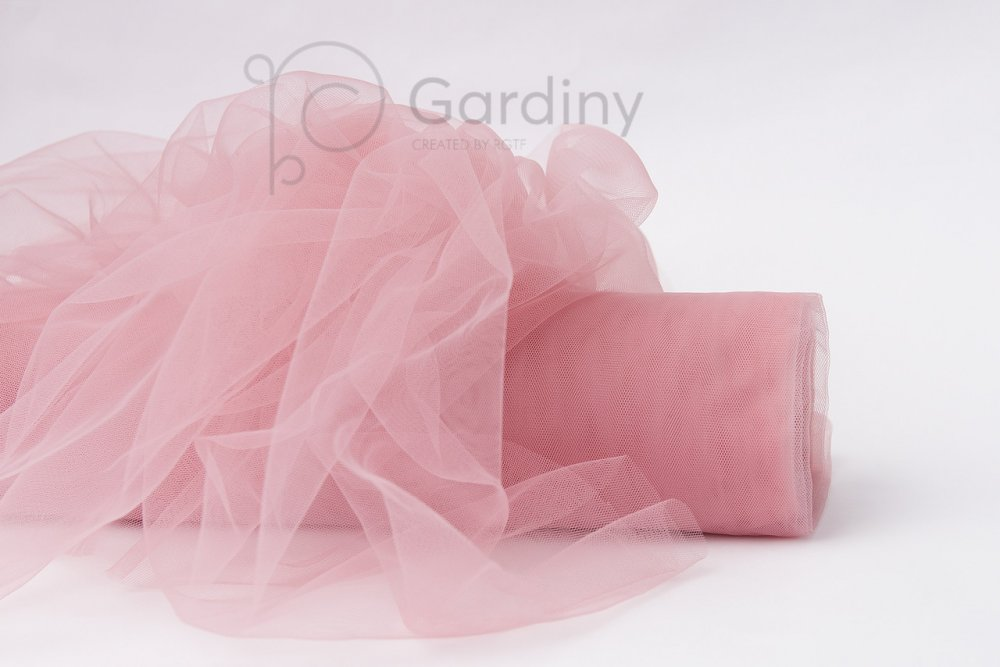 Купить Фатин крашеный Сложно розовый №90