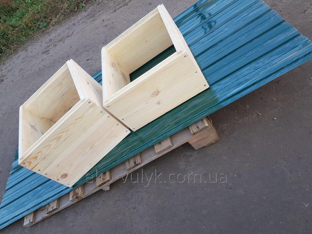 10 рамочный полу-корпус улья Магазин 145мм Фальцевый