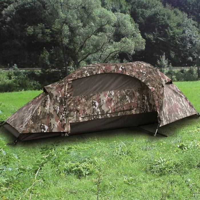 Купить Палатка одноместная Mil-tec Recom multicam