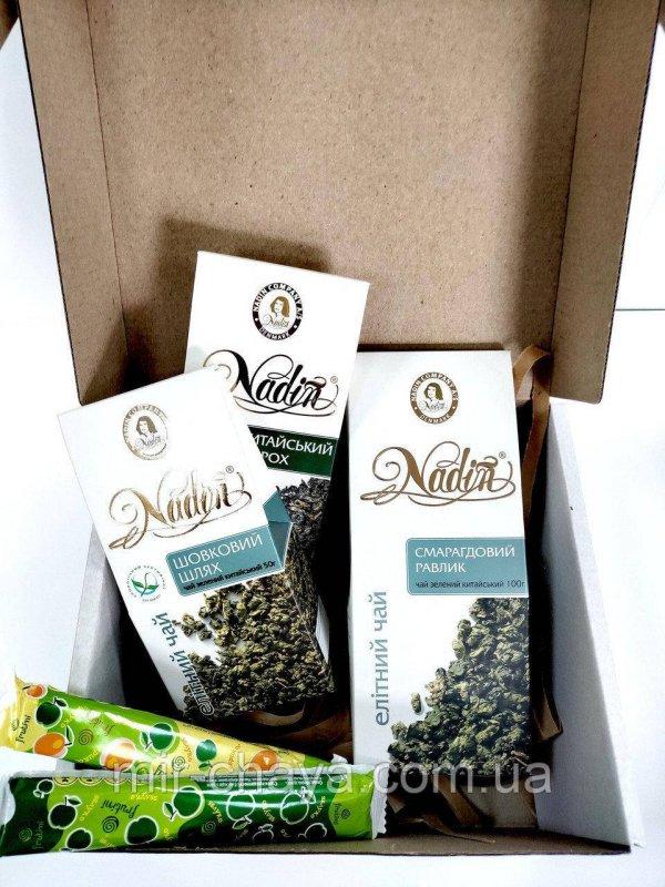 Christmas gift set Tea Green Tea 200 g TM NADIN