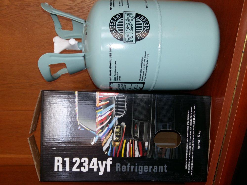 Купить Хладагент 1.2.3.4 YF,хладон R-1.2.3.4 YF,фреон R-1.2.3.4 YF,R-1.2.3.4 YF упаковка 5.0кг