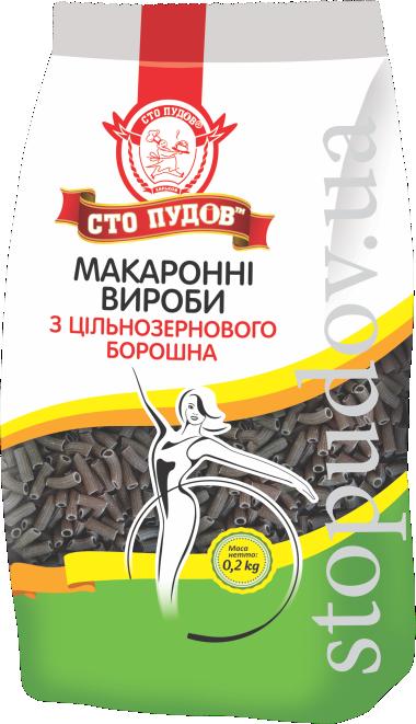 Купить Макаронные изделия из цельнозерновой пшеницы, 0,2 кг