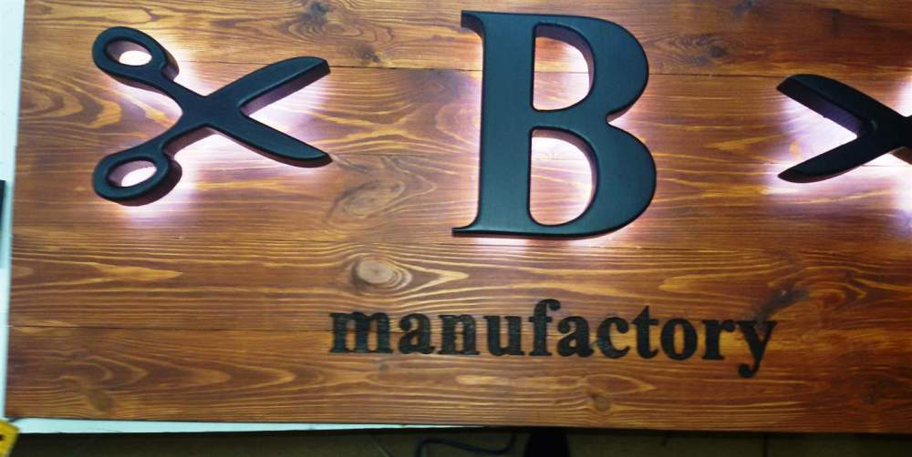 Buy Large letters made of wood, stone, granite, marble