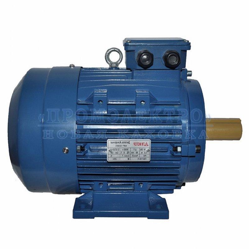 Купить Электродвигатель АИР132S6 - 5,5кВт 1000 об/мин Лапа
