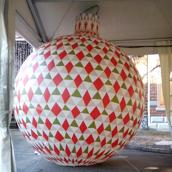 Buy Christmas inflatable tree for street