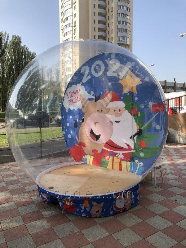 Купить Пневмоелка надувная фигура уличная новогодняя10м/Inflatables Christmas Shapes order