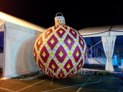 Buy Christmas inflatable figures balls