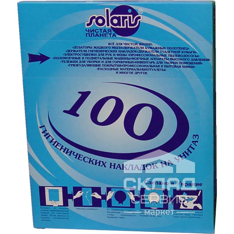 Купить Гигиенические накладки на унитаз, 100 шт (Целлюлоза)