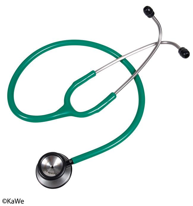Стетоскоп Стандарт-Престиж, зелёный KaWe
