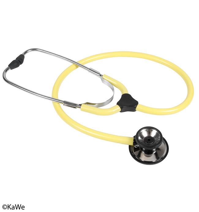 Стетоскоп Кирхнер КОЛОРСКОП Дуо, медицинский стетоскоп жёлтый, KaWe