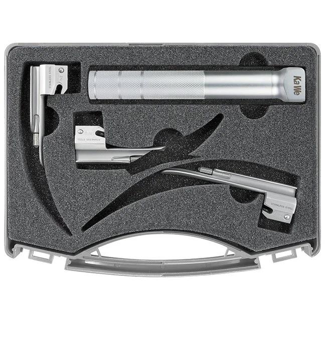 Набор, неонаталогия, 2,5 V 1 рукоятка + 3 клинка Mиллер С KIRCHNER & WILHELM GmbH + Co. KG
