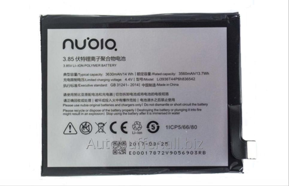 Купити Акумулятор ZTE Nubia M2 NX551J / LI3936T44P6H836542 (3630 mAh)