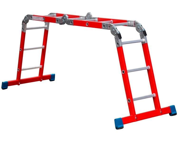 Купить Мультифункциональная шарнирная лестница из стекловолокна 4x3 ACROBAT VIRASTAR