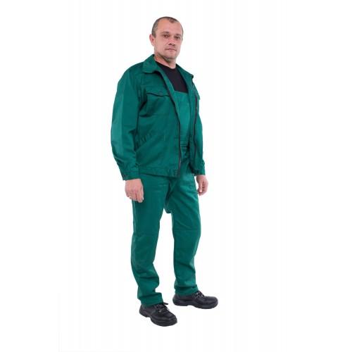 0102Z Напівкомбінезон з курткой Монтаж зелений
