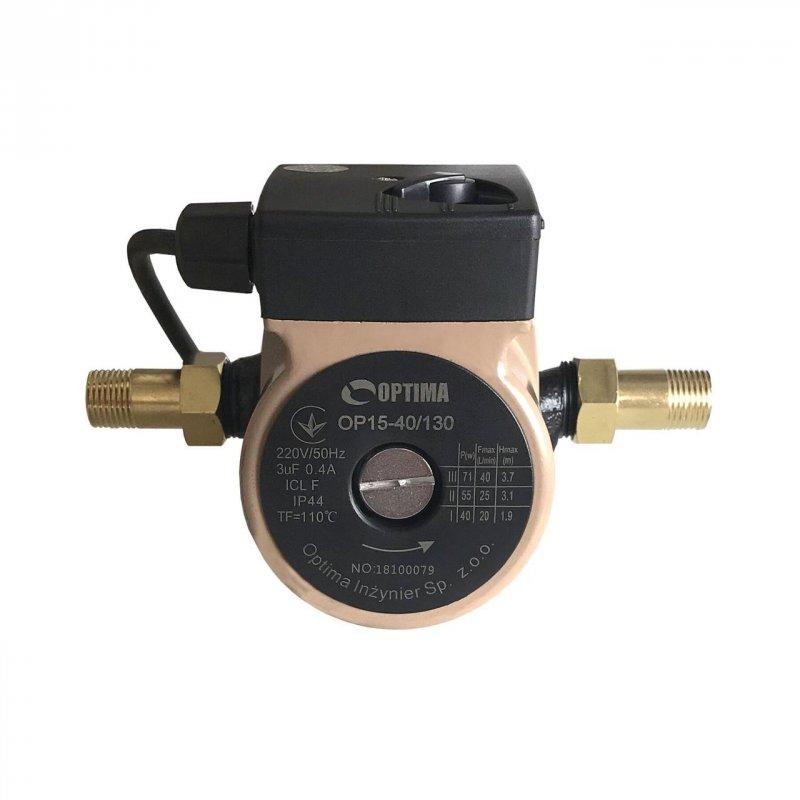 Насос циркуляционный Optima OP15-40 130мм с кабелем и гайками