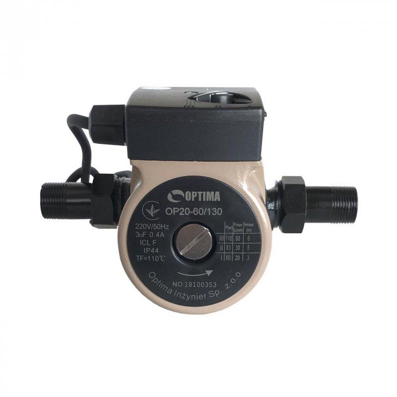 Насос циркуляционный Optima OP20-60 130 мм с кабелем и гайками
