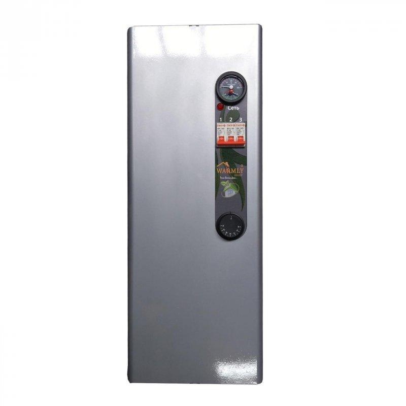 Котел электрический Warmly CLASSIK MG 9кВт 220/380 В (с насосом + бесшумное реле)