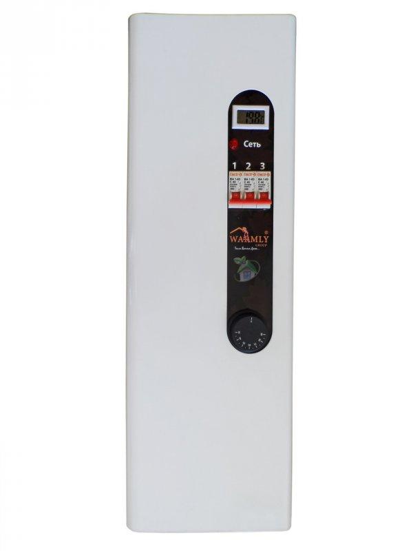 Котел электрический Warmly CLASSIK M 9 кВт 220 В (с насосом + бесшумная комутация)