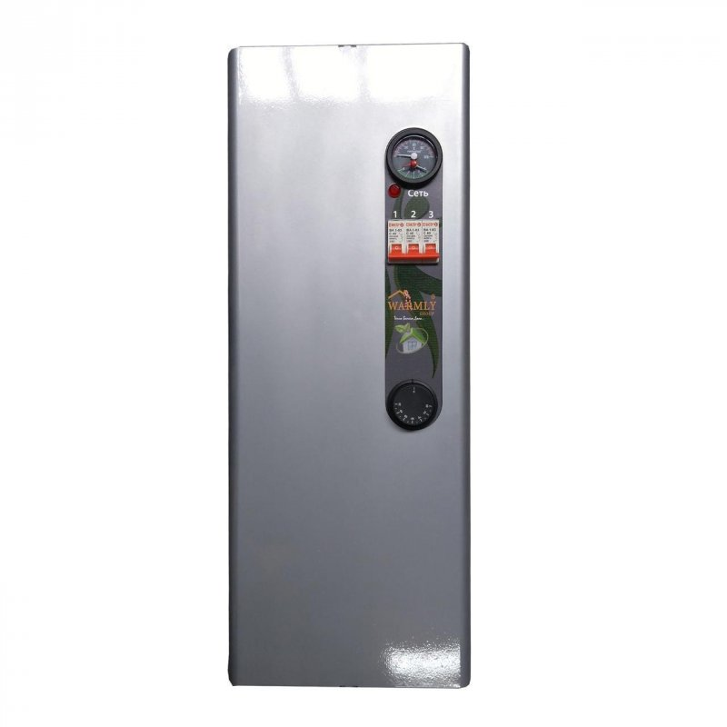 Котел электрический Warmly CLASSIK MG 12 кВт 380 В (с насосом + бесшумное реле)
