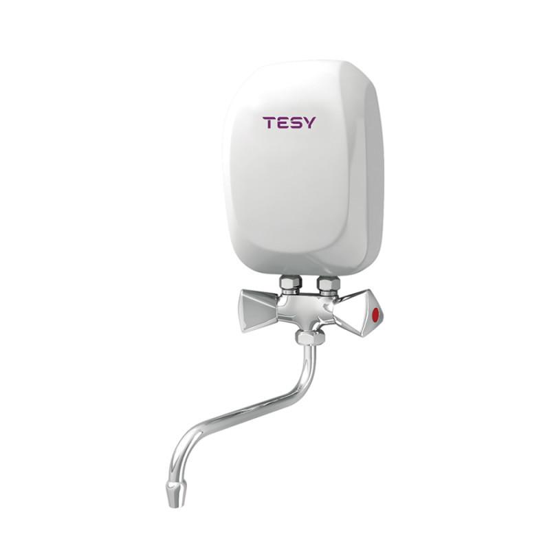 Купить Водонагреватель Tesy проточный 3,5 кВт со смесителем IWH 35 X01 KI