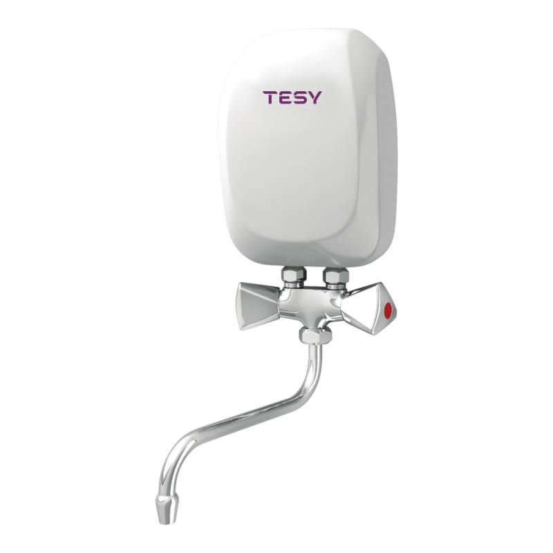 Купить Водонагреватель Tesy проточный 5,0 кВт со смесителем IWH 50 X02 KI