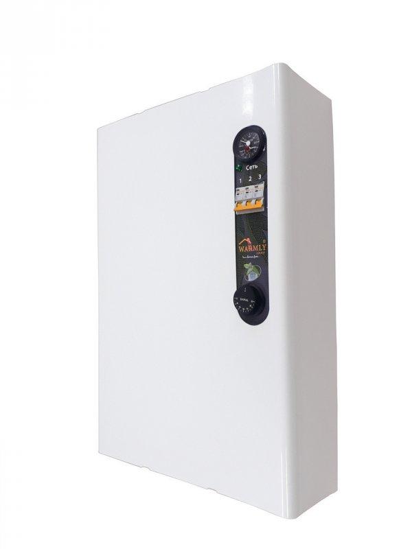 Котел электрический 12 кВт 380 В. PRO (насос, расширительный бак)