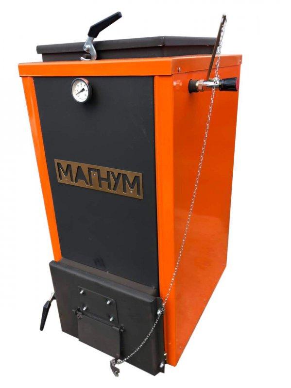 Шахтный котел Холмова Магнум 12 кВт. Длительного горения!