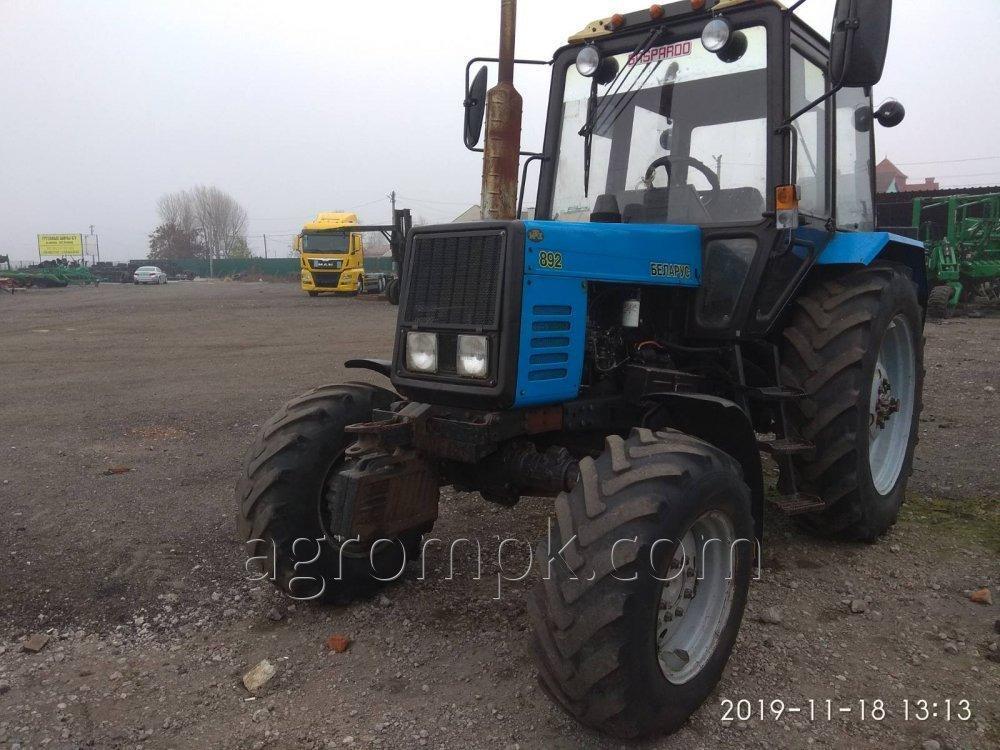 Трактор колесный МТЗ-892 Беларусь