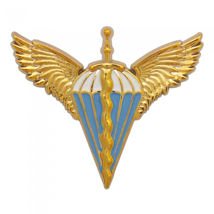 Buy Badge of the Airborne Forces on beret colored plastic