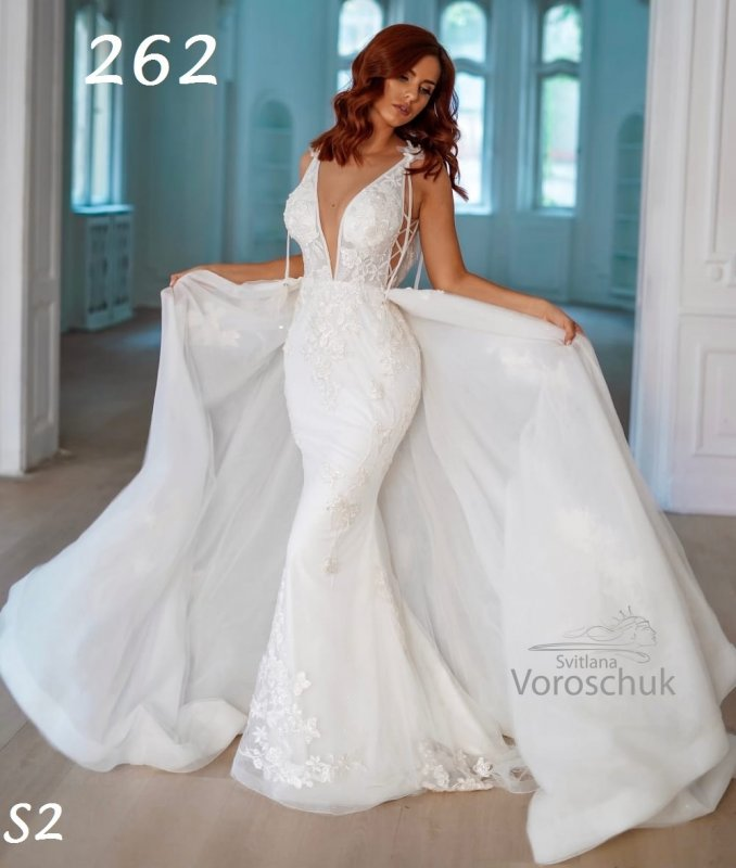 Wedding dress, model 262