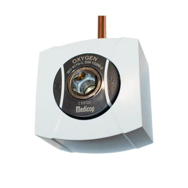 Розетка газовая SMARTLET; DIN, кислород (настенная), 1035001 Medicop