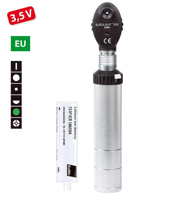 Офтальмоскоп KaWe EВРОЛАЙТ E36 / EC