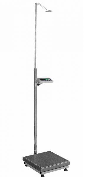 Весы медицинские персональные ТВЕ1-150,ТВЕ1-200 с телескопическим ростомером