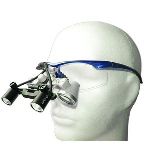 Бинокулярный увеличитель ECMG-2,5x-LD ErgonoptiX микро Галилея с осветителем D-Light Duo
