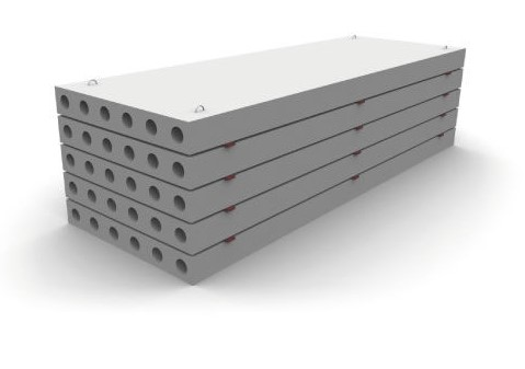 Железобетонная панель перекрытия ПК 68.12-8