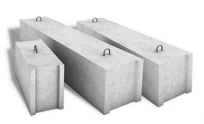 Фундаментные блоки ФБС 12.5.6