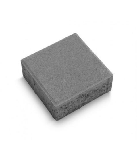 Тротуарная плитка  Квадрат (серый) стандарт