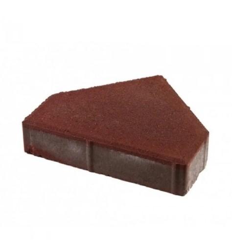 Тротуарная плитка Пирамида (цветная) люкс