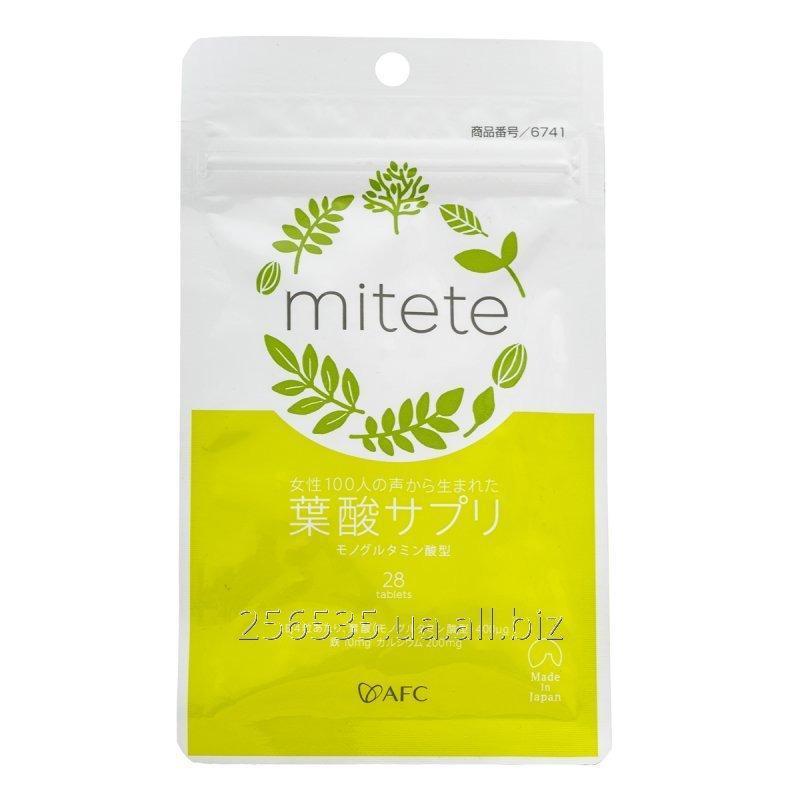 Купить Фолиевая кислота AFC Mitete 350 мг, 28 шт
