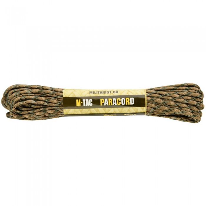 Купить M-Tac паракорд 550 type III Tiger Stripe 15 метров