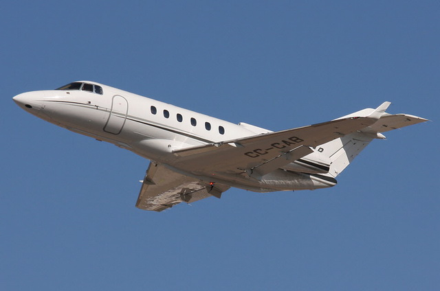 Чартерные рейсы в Киеве Hawker 850 XP
