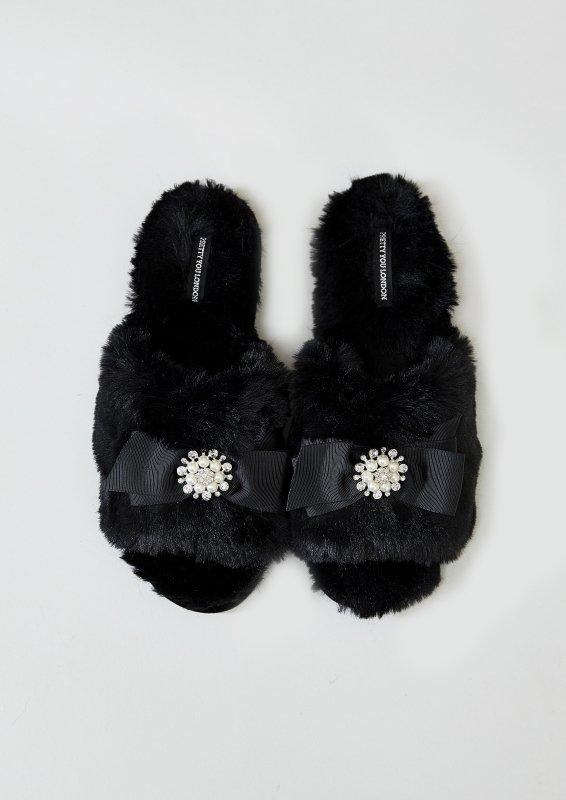Купить Тапочки Pretty You London Anya S(36-37) Black (5060526413482)