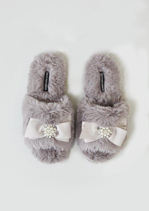 Купить Тапочки Pretty You London Anya M(37-38) Mink (5060526413574)