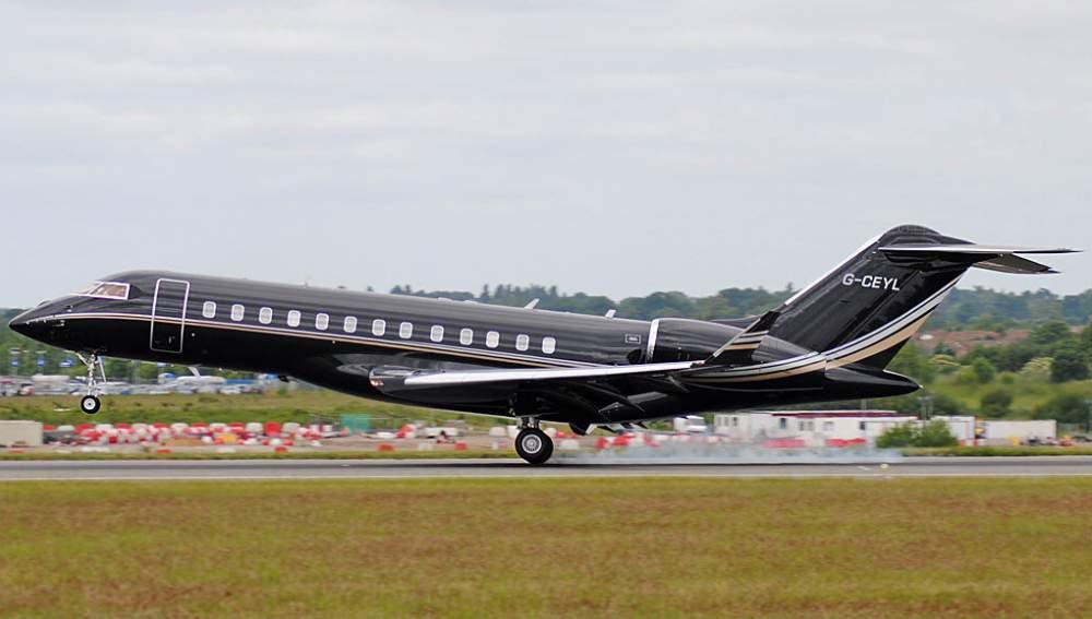 Чартерный рейс Challenger 601