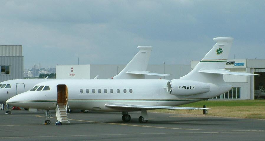Чартерные рейсы в Киеве Falcon 2000EX