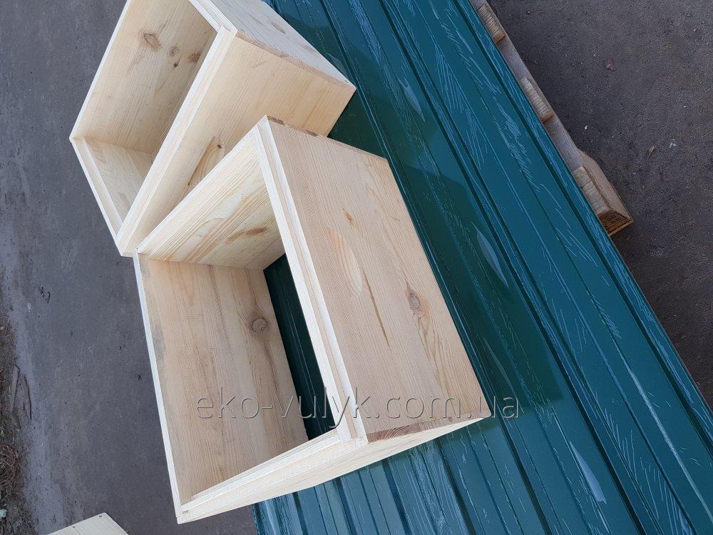 12 рамочный полу-корпус улья Магазин 145мм Фальцевый