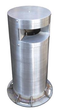 Купить Столбик стойка боллард аксессуар для установки датчика Bea LZR-H100 активации и безопасности автоматических ворот и шлагбаумов