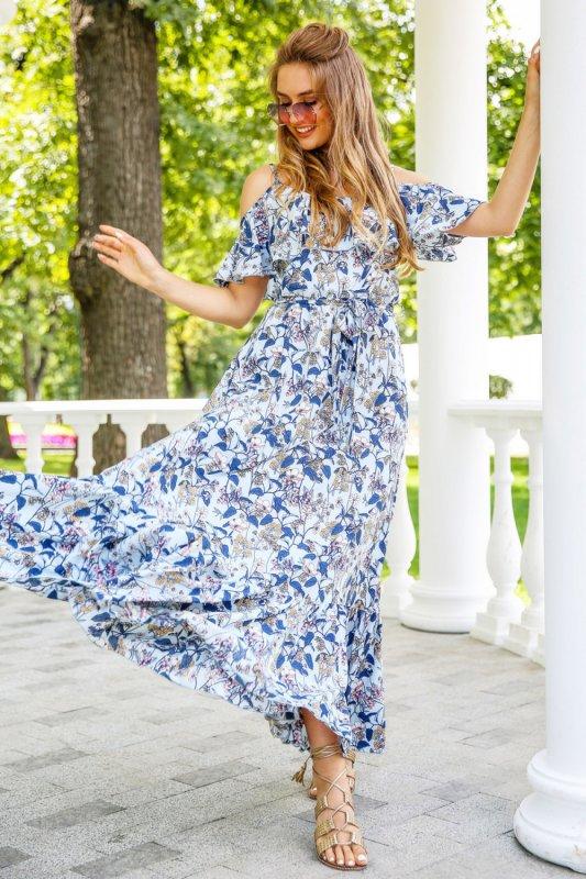 Buy Dress 01-27 - Blue, color diz 38 tsv 2