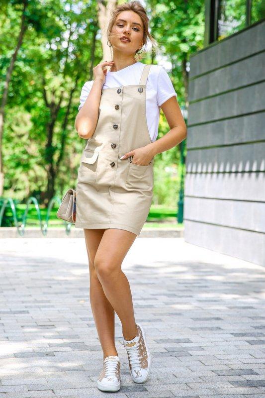Buy Dress 05-23 - Beige C 91